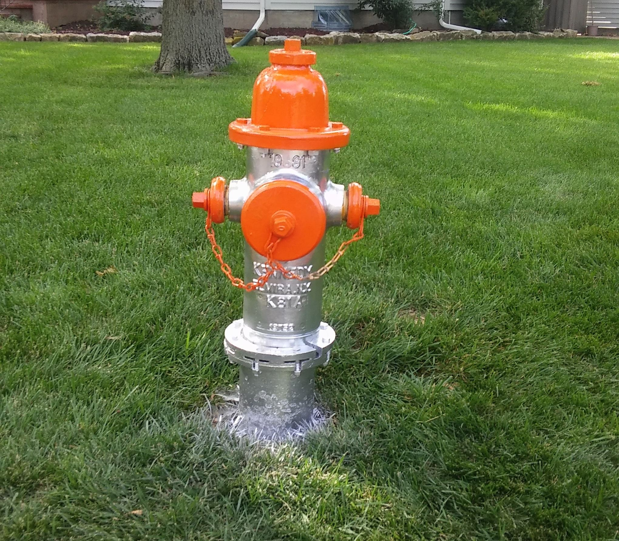 fire hydrant-orange