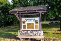 Black Kettle North Park Sign